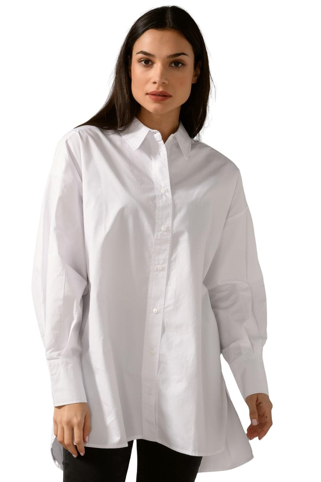 Oversized πουκάμισο (WHITE)