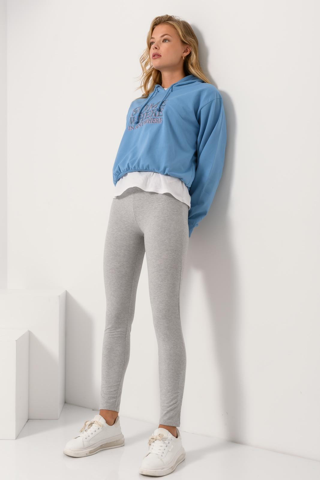 Παντελόνι φόρμας (GRAY MARL)