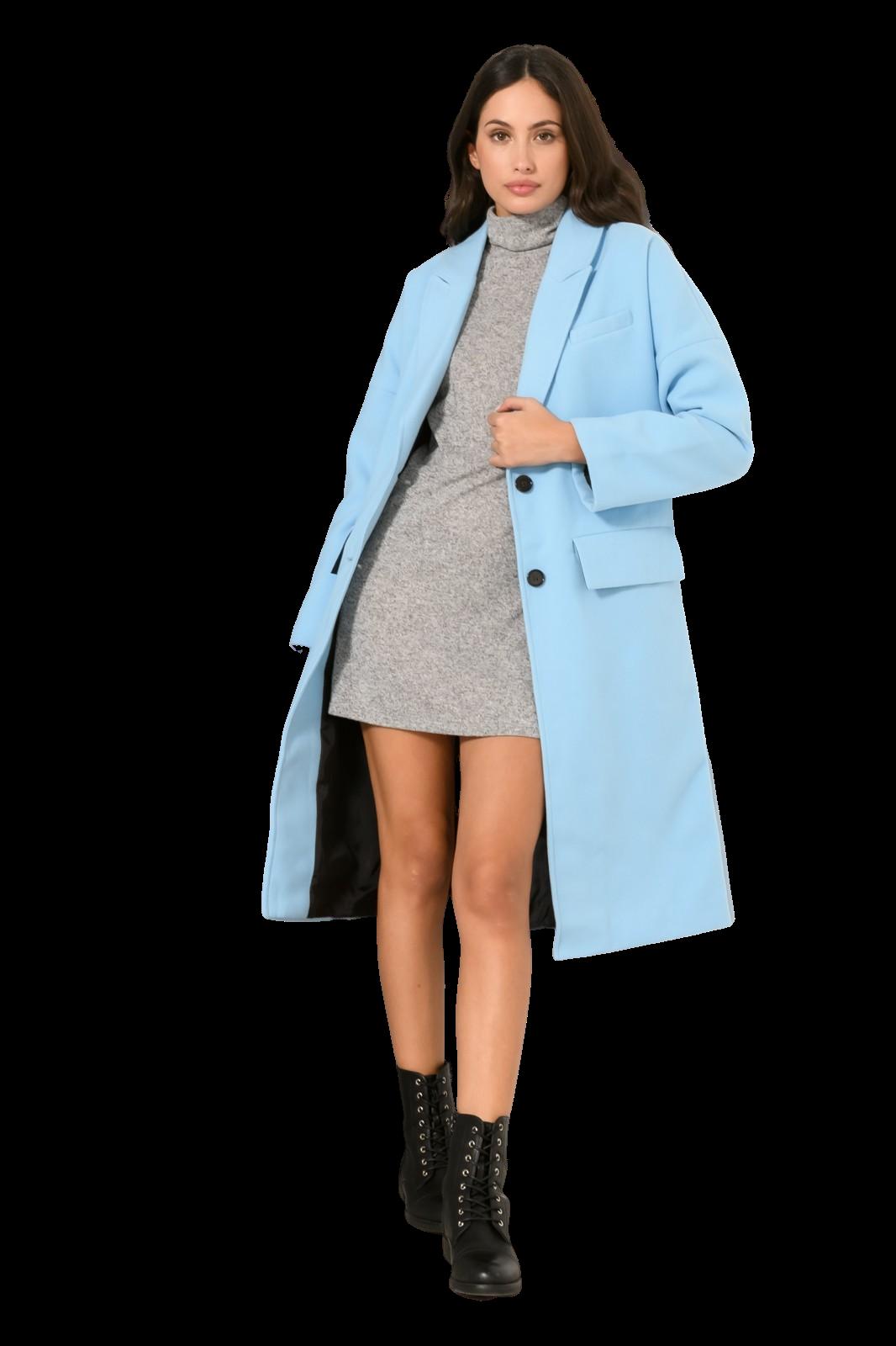 Μακρύ lapel παλτό (CIEL)