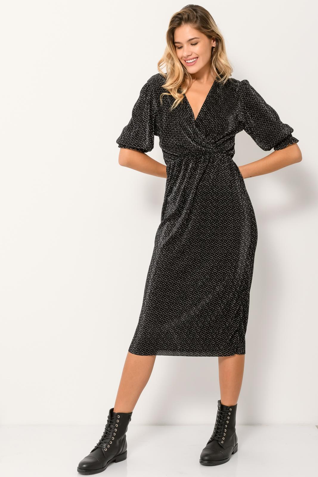 Μιντι φόρεμα (MULTI)