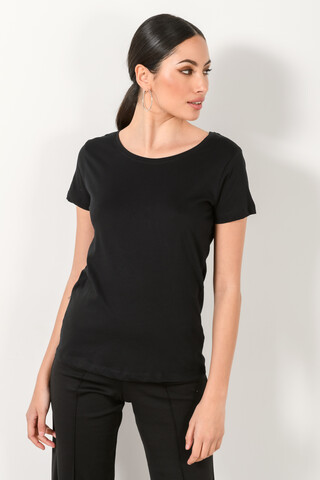 Basic T-shirt XS BLACK