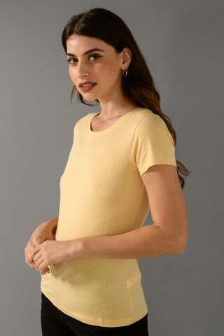 Basic T-shirt XS L.YELLOW