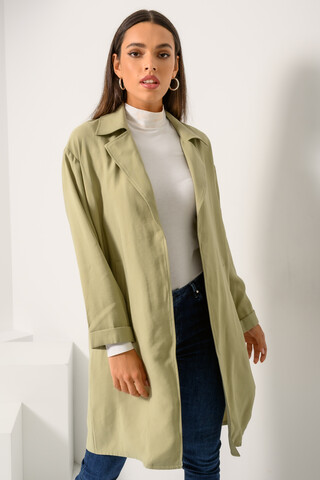Overcoat S-M LIGHT KHAKI