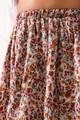 Midi φλοράλ φούστα M MULTI