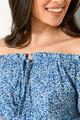 Μίνι φλοράλ φόρεμα XS MULTI