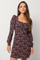 Mini floral dress MULTI XS
