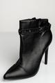 Stiletto-heel ankle boots BLACK 36